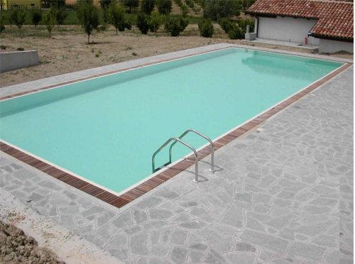Bordo Vasca Da Spa : Acqua spa deck esterni per piscina