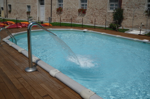 Acqua spa giochi d 39 acqua cascate e fontane - Scalda acqua per piscina ...