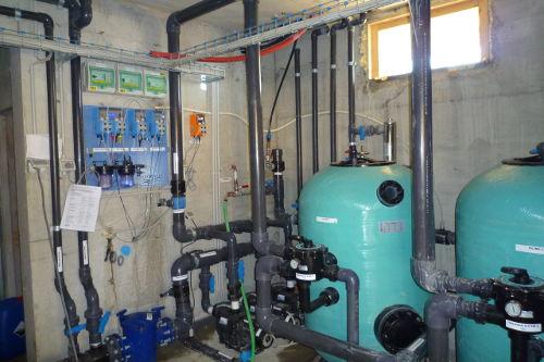 Acqua SPA - Il locale tecnico della piscina