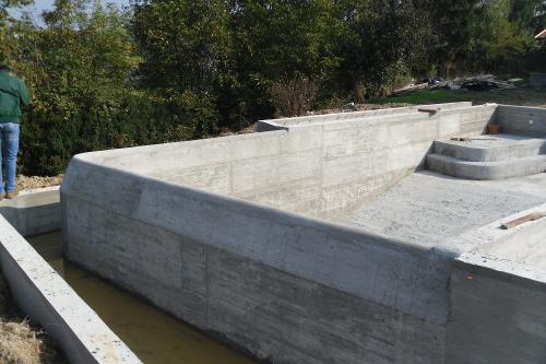 Acqua spa piscine in cemento armato - Piscina cemento armato ...