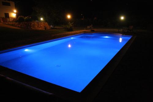 Acqua spa illuminazione della piscina