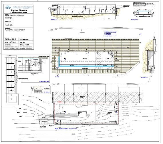 progetti piscine interrate idea del concetto di interior