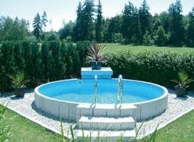 Prodotti piscine fuoriterra for Aufstellpool rund stahlwand